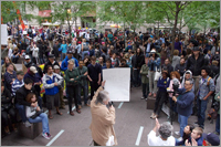 Occupy Wall Street Protesters in Zucotti Park